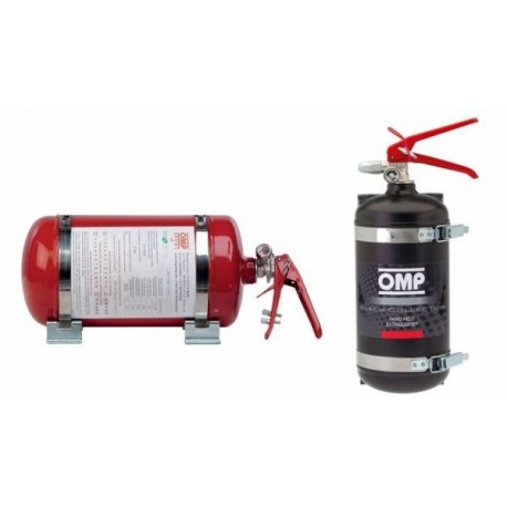 PROMO Fire extinguishers Rally Omp