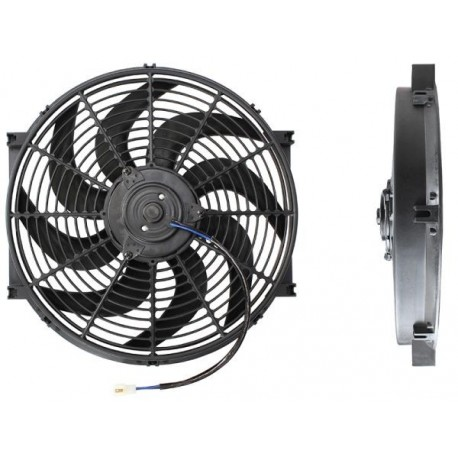 "16"" Electric Thermo Fan Curved Blades"
